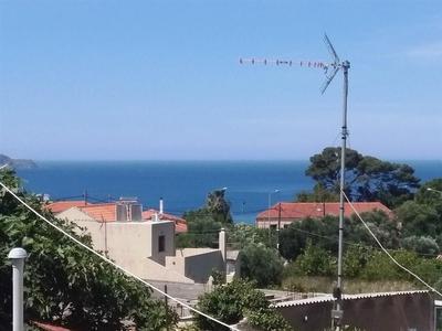 Tradiční dům se zahradou a výhledem na moře, Kréta, Řecko