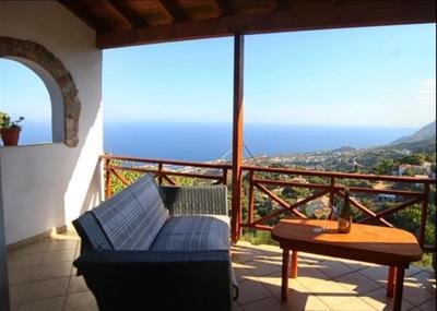 Rodinný dům s nádherným výhledem na moře, Ikaria, Řecko