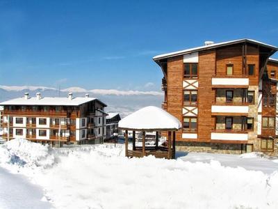 Skvělý apartmán v zimním středisku Green Life, Bansko, Bulharsko