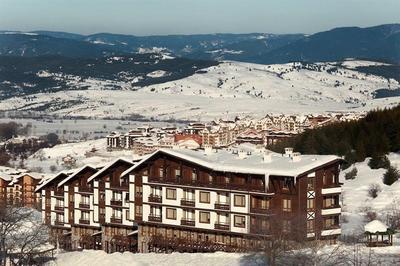 Útulný apartmán v zimním středisku Green Life, Bansko, Bulharsko