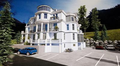 Prosluněný apartmán blízko vodopádů, Bad Gastein, Rakousko