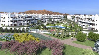Nový apartmán s předzahrádkou blízko moře, Mar de Pulpí, Španělsko