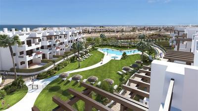 Nový apartmán se střešní terasou u moře, Mar de Pulpí, Španělsko