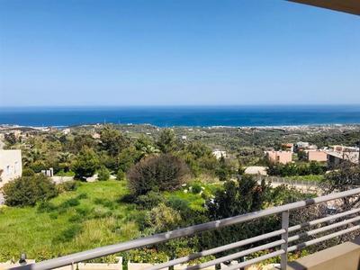 Pěkná vila s otevřeným výhledem na moři, Kréta, Řecko