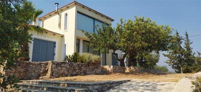 Pěkná vila se dvěma apartmány a výhledem na moře, Kréta, Řecko