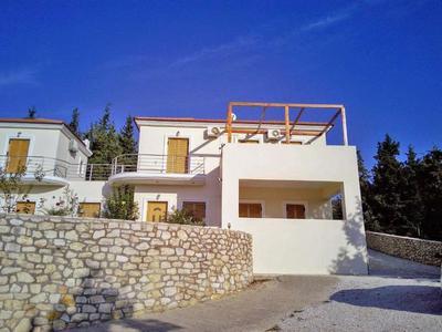 Komplex 2 vil a jednoho studia s výhledem na moře, Kréta, Řecko