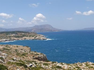 Stavební pozemek v 1. řadě u moře, Kréta, Řecko